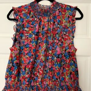 NWT J. crew floral top! Size 14
